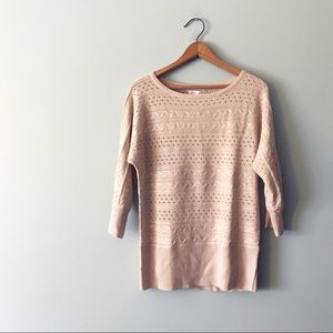 NWT NY&Co Loose Knit Dolman Sleeve Sweater Top
